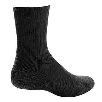 Thorlo Black Crew Sock - Medium
