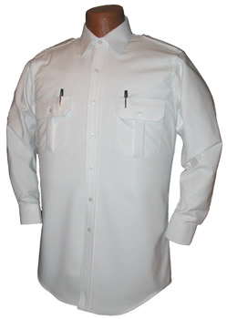 Pilot House Relaxed Long Sleeved Oxford Airline Pilot Shirt