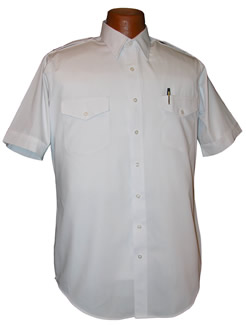Van Heusen Aviator Short Sleeve Pilot Shirt, Tall