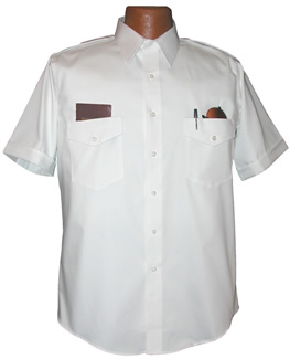 Van Heusen Commander Short Sleeve Pilot Shirt
