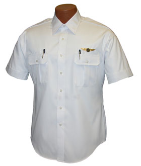Van Heusen Short Sleeve Pilot Shirt