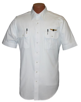 Van Heusen Short Sleeve Pilot Shirt, Tall