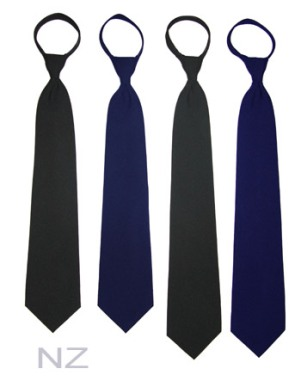 Airline Pilot Zipper Tie